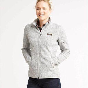 Women's L.L.Bean Sweater Fleece Full-Zip Jacket Large